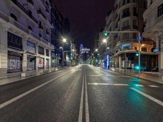 Madrid: control exhaustivo de movimientos entre las 00 y 6 horas
