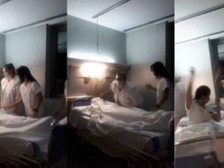 Investigan a trabajadoras de un hospital por polémico vídeo en TikTok