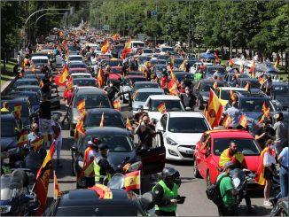 Vox convoca una manifestación contra las medidas del Gobierno
