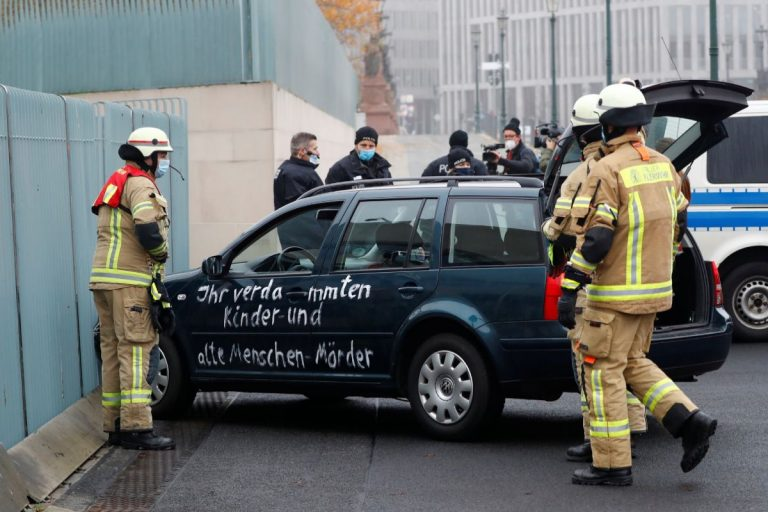 coche Alemania mensajes