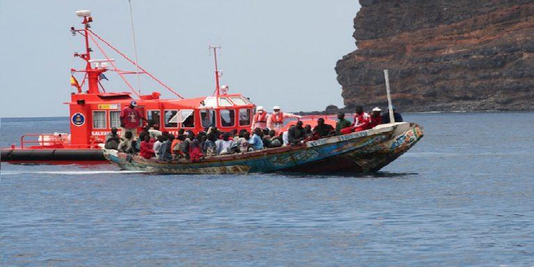 Canarias inmigrantes campamentos