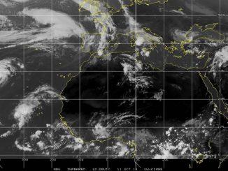 Un ciclón tropical se aproxima a las Islas Canarias