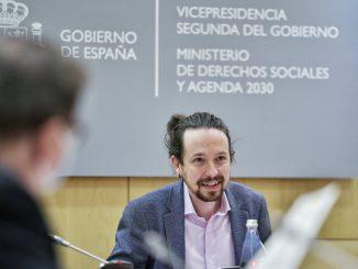 Pablo Iglesias anuncia un decreto para prohibir los desahucios