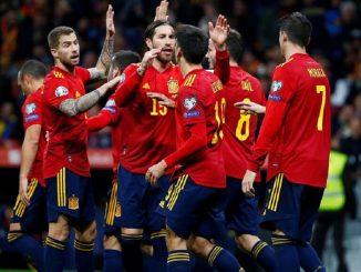 España recibe esta noche a Alemania en Sevilla