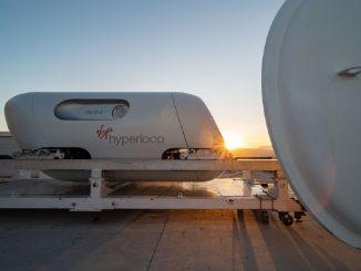 Hyperloop: el tren del futuro que levita, es todo un éxito