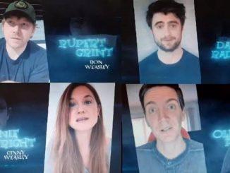El reparto de Harry Potter se reúne sin Emma Watson
