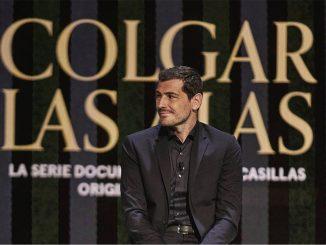 Iker Casillas presenta 'Colgar las Alas' su nuevo documental