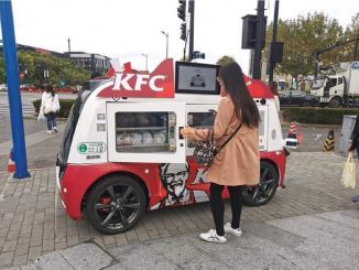KFC usa coches autónomo en China para vender sin contacto