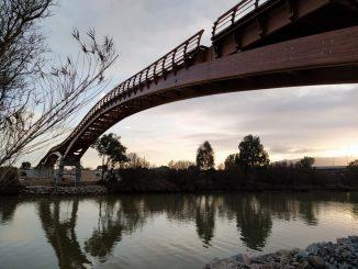 Málaga estrena la pasarela peatonal de madera más grande de Europa