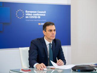 Pedro Sánchez anuncia que la vacunación masiva llegará en mayo