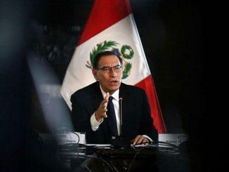 El presidente de Perú, Martín Vizcarra es destituido