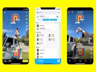 Spotlight la nueva función de Snapchat, que compite con TikTok