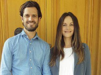 Los príncipes Carlos Felipe y Sofía de Suecia, positivo en Covid
