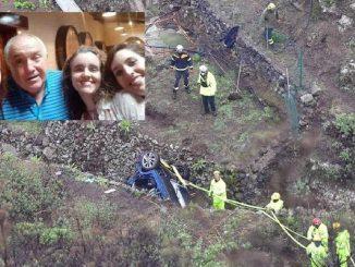 La tragedia pro accidente de una familia asturiana en Canarias