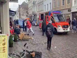 Posible atentado en Alemania: un coche deja 10 heridos y 2 muertos