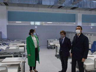 Madrid no quiere pacientes graves en el Hospital Zendal
