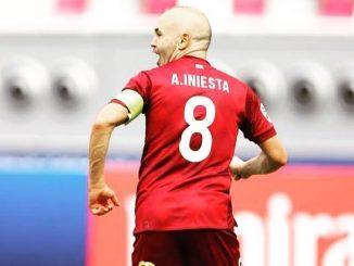 Andrés Iniesta: la lesión que lo dejará fuera del campo