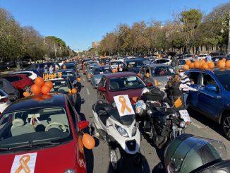 Educación concertada protesta en coches en contra de la ley Celaá