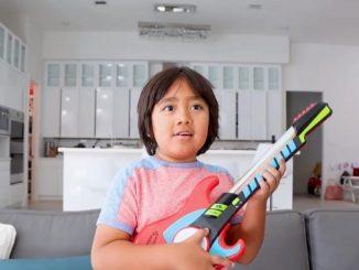 El niño youtuber Ryan Kaji se convierten en el mejor pagado del mundo