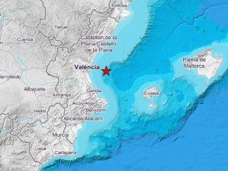 Golfo de Valencia registró 22 terremotos durante la madrugada