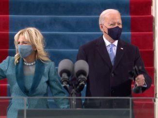 Arranca la ceremonia de toma de posesión de Joe Biden y Kamala Harris