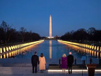 Biden llega a Washington para tomar posesión como Presidente
