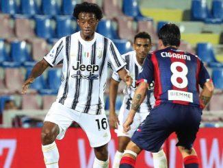 Cuadrado: el jugador de Juventus da positivo en coronavirus