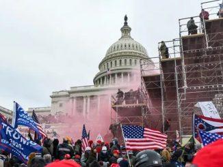 Radicales preparan otra concentración para la investidura de Biden