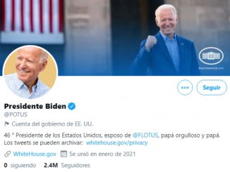 Twitter: Joe Biden ya tiene la cuenta POTUS y su primer tweet