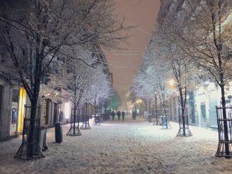 Tras la nieve: ¿Cómo desplazarse por Madrid en transporte?