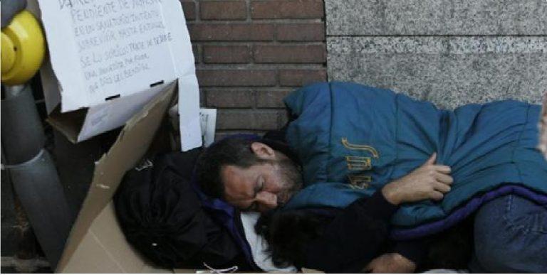 personas sin techo