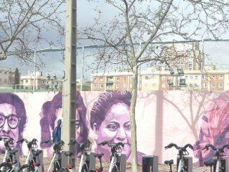 Las 15 mujeres del mural del barrio de la Concepción de Madrid