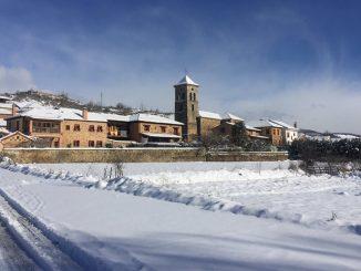 Un enero de nieve, viento y lluvia azota a la península