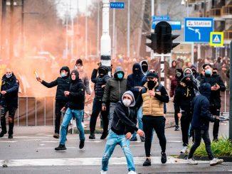 Protestas en Países Bajos contra las restricciones por la pandemia