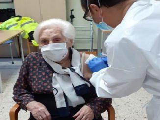 residencia ancianos vacunada