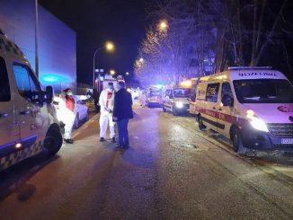 Incendio en una residencia de ancianos en Soria: un muerto y varios heridos