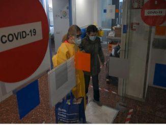 España alcanza el pico de contagios de coronavirus en la tercera ola.
