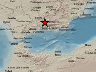 Granada amanece este lunes con un terremoto de 3,3