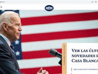 La web de la Casa Blanca retoma el uso del español