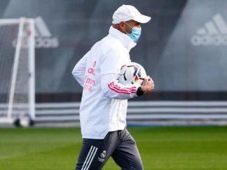 Zidane: en aislamiento por contacto con un positivo