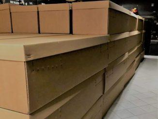 Ataúdes de cartón, propuesta para abaratar el coste del servicio