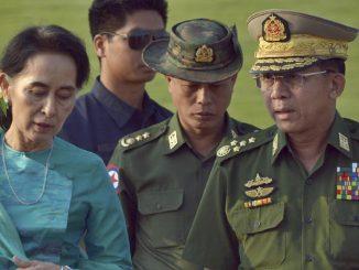 Tráfico aéreo suspendido en Myanmar por el golpe de Estado