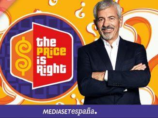 El precio justo, vuelve con Carlos Sobera y en Mediaset