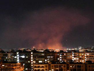 EEUU ataca una base militar controlada por Irán en Siria
