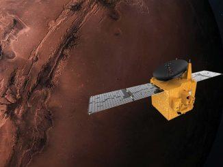 Los Emiratos Árabes llegan a Marte con la misión espacial 'Hope'