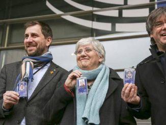 La Eurocámara levanta la inmunidad de Puigdemont