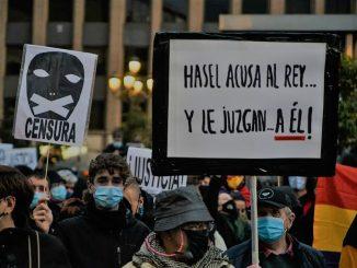 Pablo Hasél se niega a entrar en prisión: «Tendrán que venir a secuestrarme»