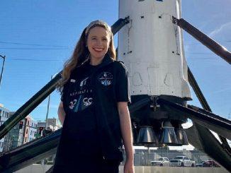 Hayley Arceneaux: la mujer más joven en viajar al espacio