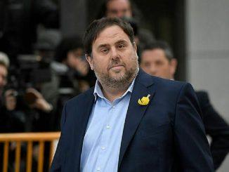 Junqueras: «Es imposible formar Gobierno con el PSC»