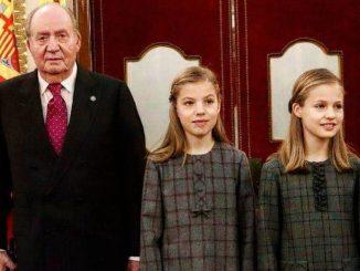 La llamada entre la Princesa Leonor y Juan Carlos I